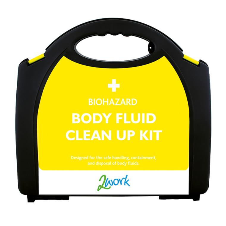 2W04990 2Work Bio-Hazard Body Fluid Kit with 5 Applications X6080