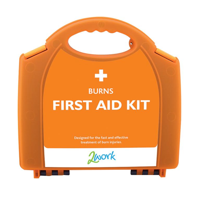 2W04991 2Work Burns First Aid Kit Small X6090