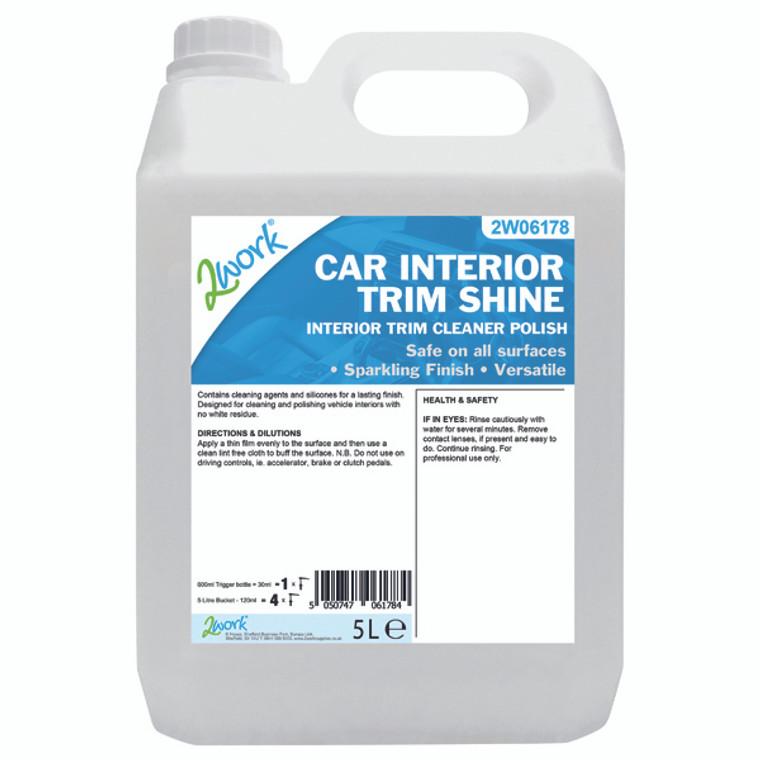 2W06178 2Work Car Interior Trim Shine 5L 604