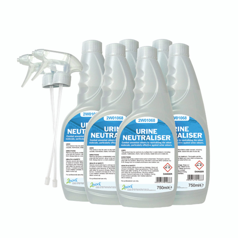 2W07246 2Work Urine Neutraliser 750ml Pack 6 208