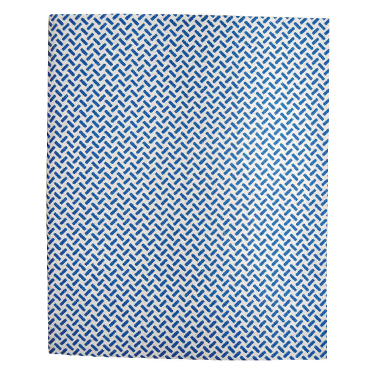 2W08160 2Work Med Weight Cloth 380x400mm Blue Pack 5 103179B