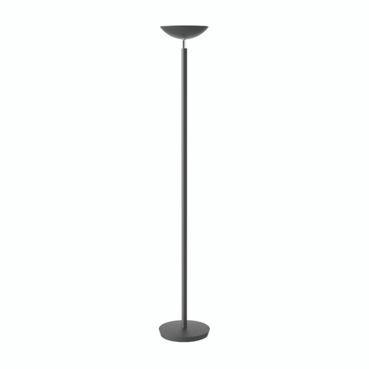 ALB00875 Alba Black LED Uplighter 30w LEDCLASSIC
