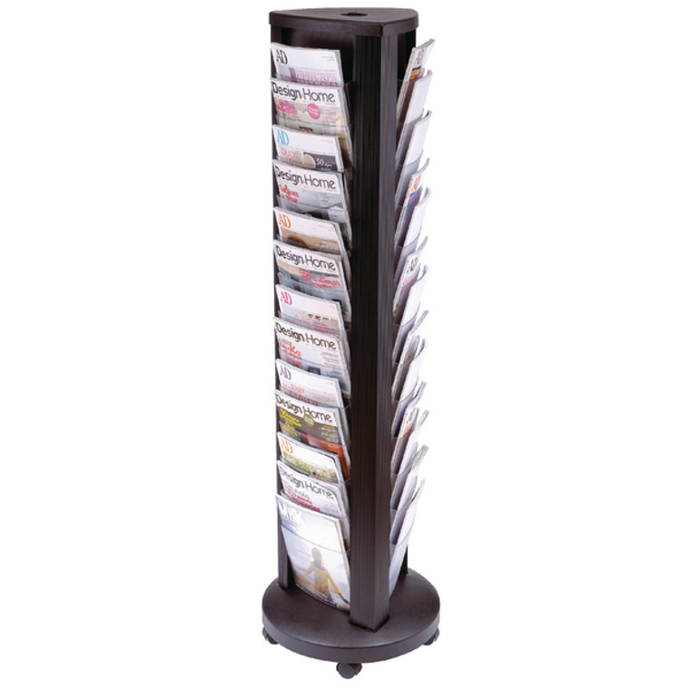 ALB01167 Alba 39 Compartment Rotary Document Display Unit A4 DDTOWER