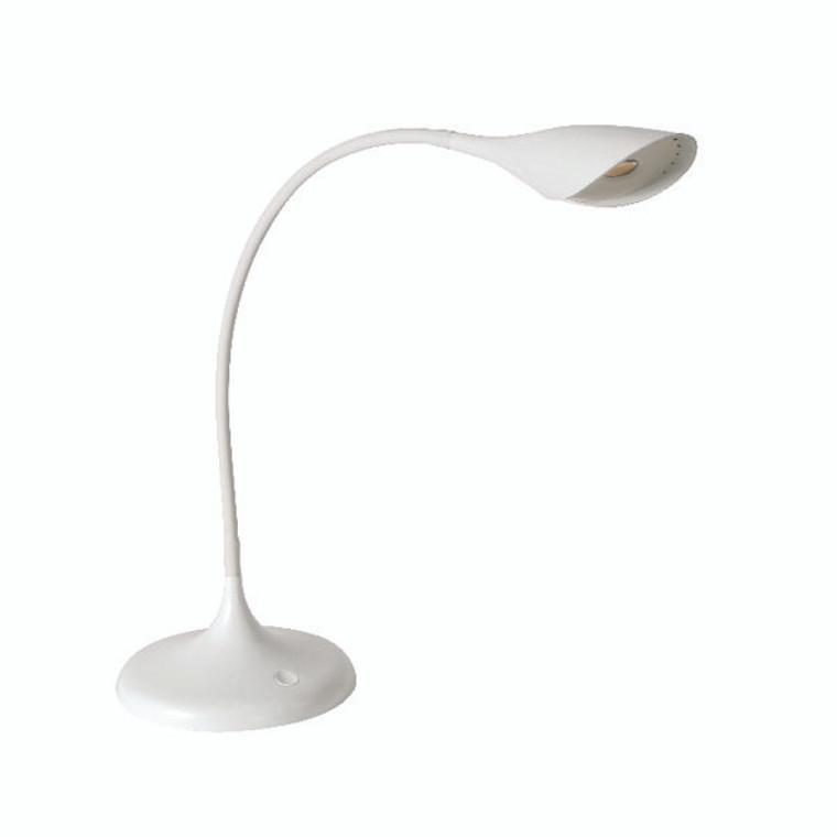 ALB01523 Alba Arum LED Desk Lamp White LEDARUM BC