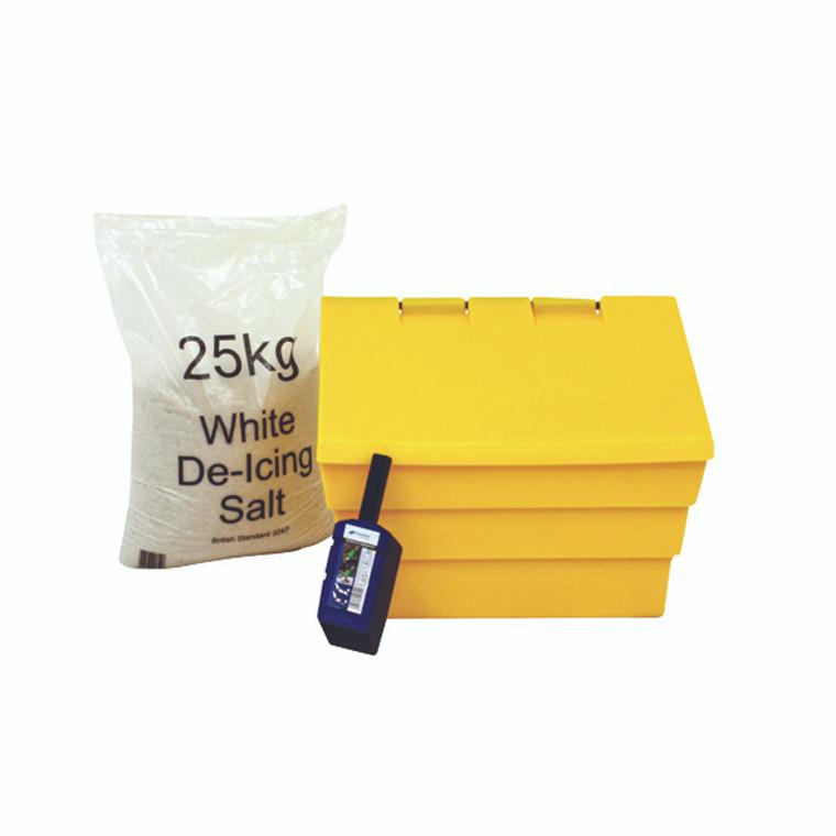 WE35440 50 Litre Grit Bin 25kg Salt Kit 389115