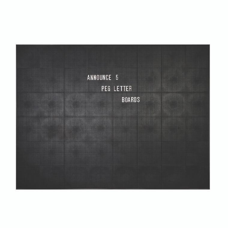 AA03912 Announce Peg Letter Board 1225x920mm 1 ECON-5 VC EC-KIT692
