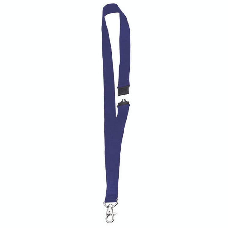 PV00672 Announce Textile Necklace Blue Pack 10 PV00672