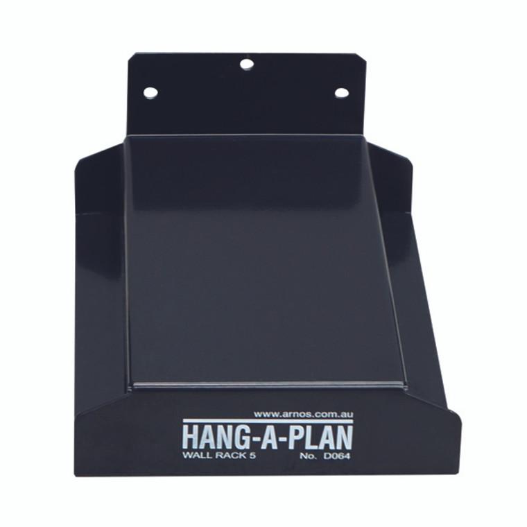 MF81174 Arnos Hang-A-Plan Wall Rack 5 Binders D064