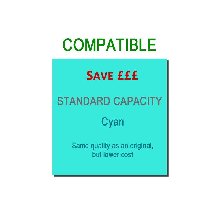 9T43865723 Compatible replace Oki 43865723 Cyan Toner