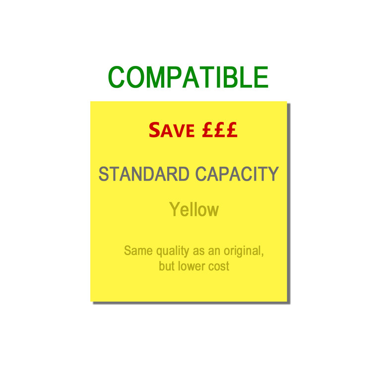 9T43865721 Compatible replace Oki 43865721 Yellow Toner