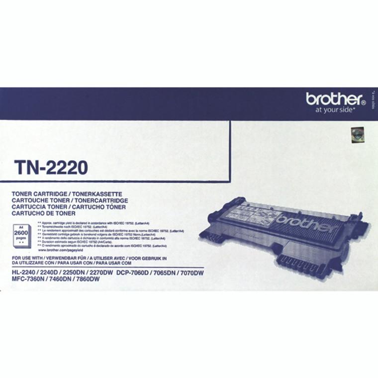 TN-2220 Brother TN-2220 Black Toner High Yield