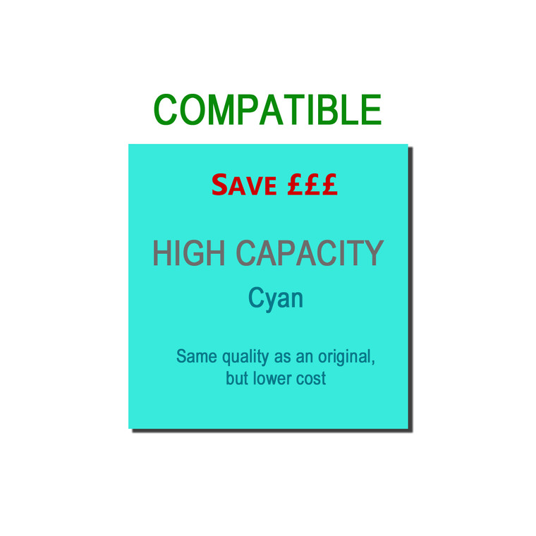 9TTN326C Compatible replace Brother TN-326C Cyan Toner High Capacity