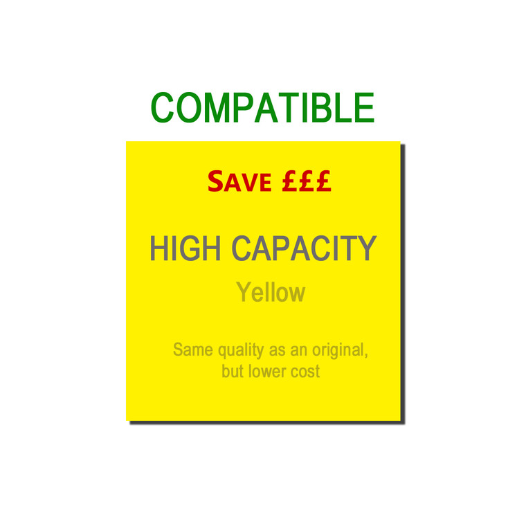 9TTN326Y Compatible replace Brother TN-326Y Yellow Toner High Capacity