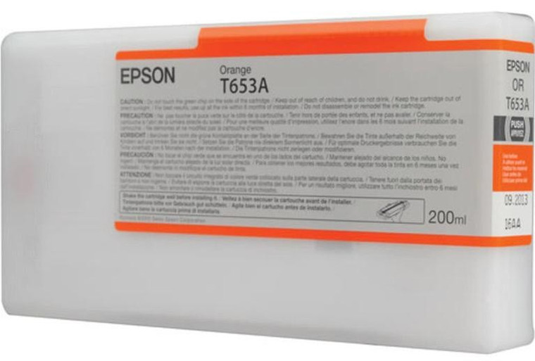 C13T653A00 Epson C13T653A00 T653A Orange Ink Cartridge