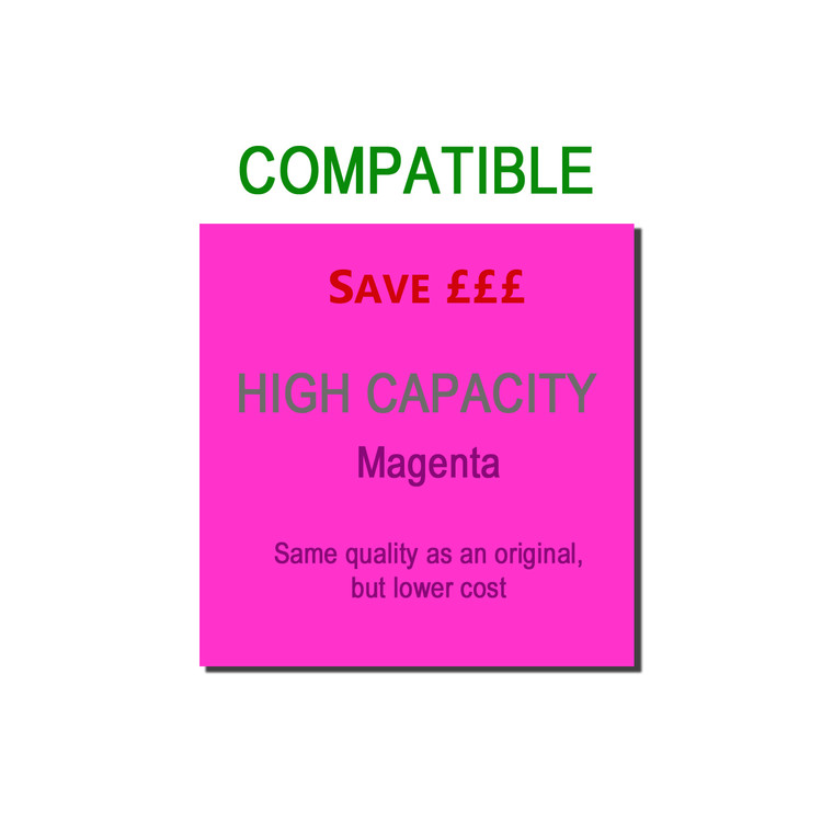 9TTN326M Compatible replace Brother TN-326M Magenta Toner High Capacity