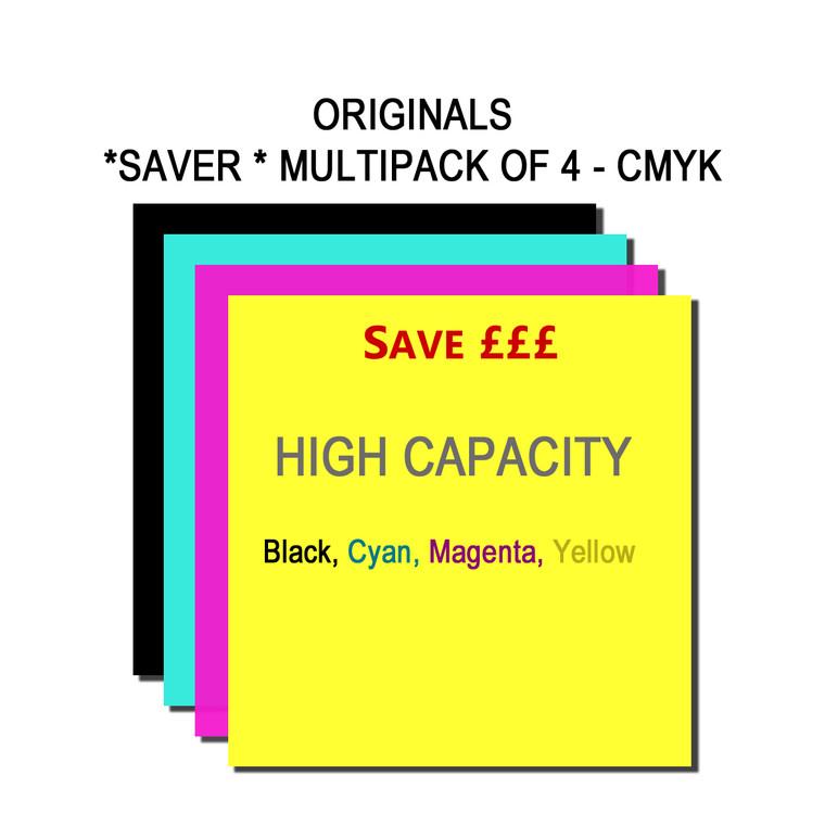 SET436 Canon BK C M Y CLI-551BKXL CLI-551CXL CLI-551MXL CLI-551YXL Multipack 4 Ink Cartridges