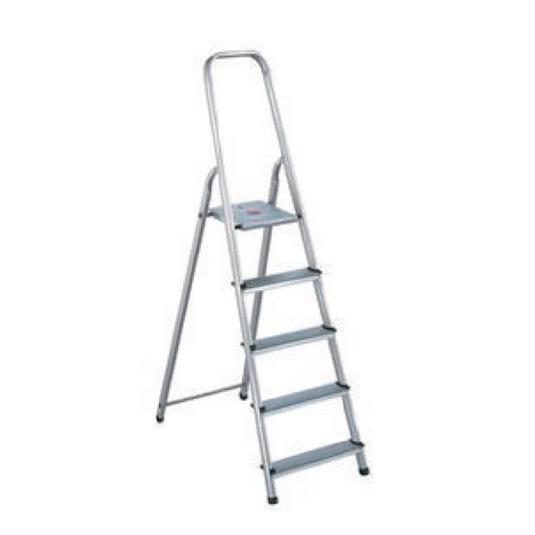 SBY16889 Aluminium Step Ladder 6 Step Platform sits 1190mm Above the Floor 358740