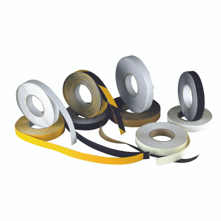 SBY08850 Anti-Slip Tape High Visibility 50mm X183m Self-Adhesive Yellow 317722