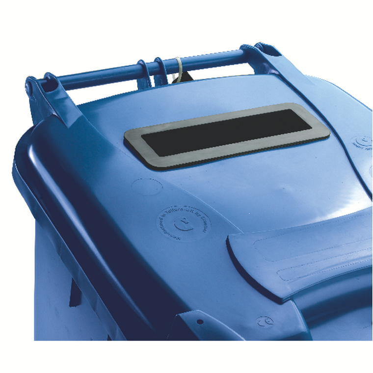 SBY22228 Confidential Waste Wheelie Bin 140 Litre Blue 377891