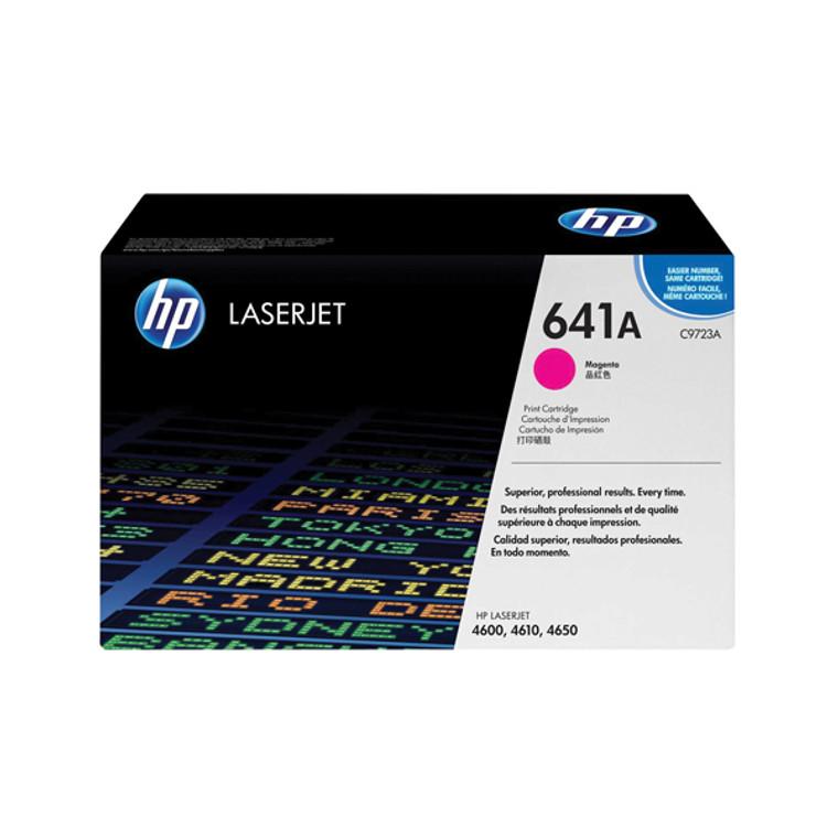 C9723A HP C9723A 641A Magenta Toner