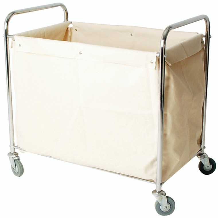 SBY16265 Linen Truck With Bag Silver W560 x D790 x H910mm 356926