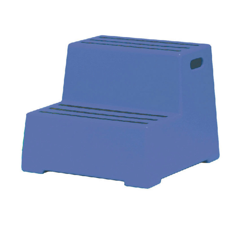 SBY11639 Plastic Safety Step 2 Tread Blue 325095