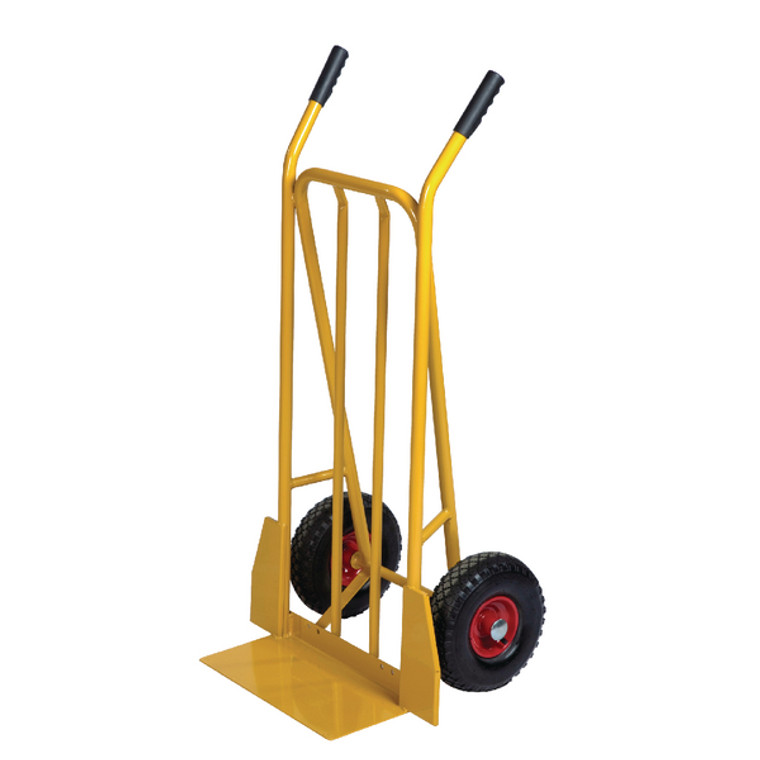 SBY24699 Yellow General Purpose Sack Truck Fixed Footplate 382849