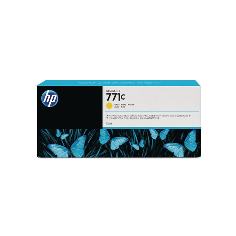 B6Y10A HP B6Y10A 771C Yellow Ink Cartridge