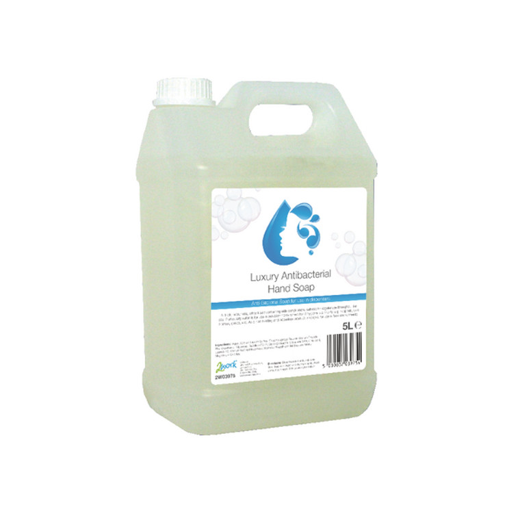 2W03975 2Work Antibacterial Hand Wash 5 Litre 2W03975