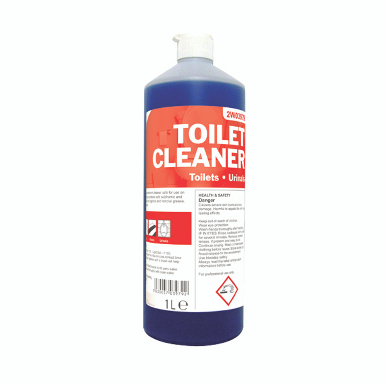 2W03979 2Work Daily Use Toilet Cleaner 1 Litre 510