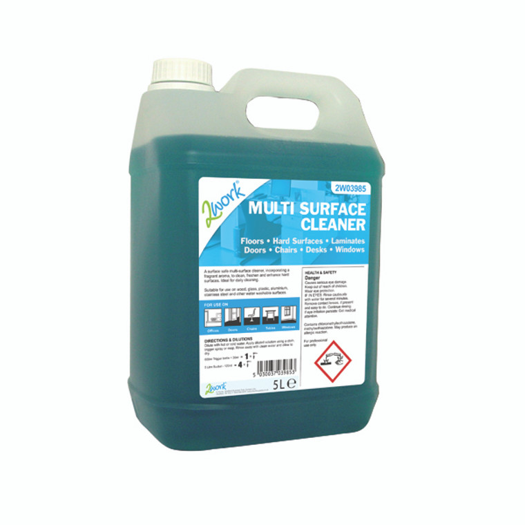2W03985 2Work Multi Surface Cleaner Concentrate 5 Litre 397