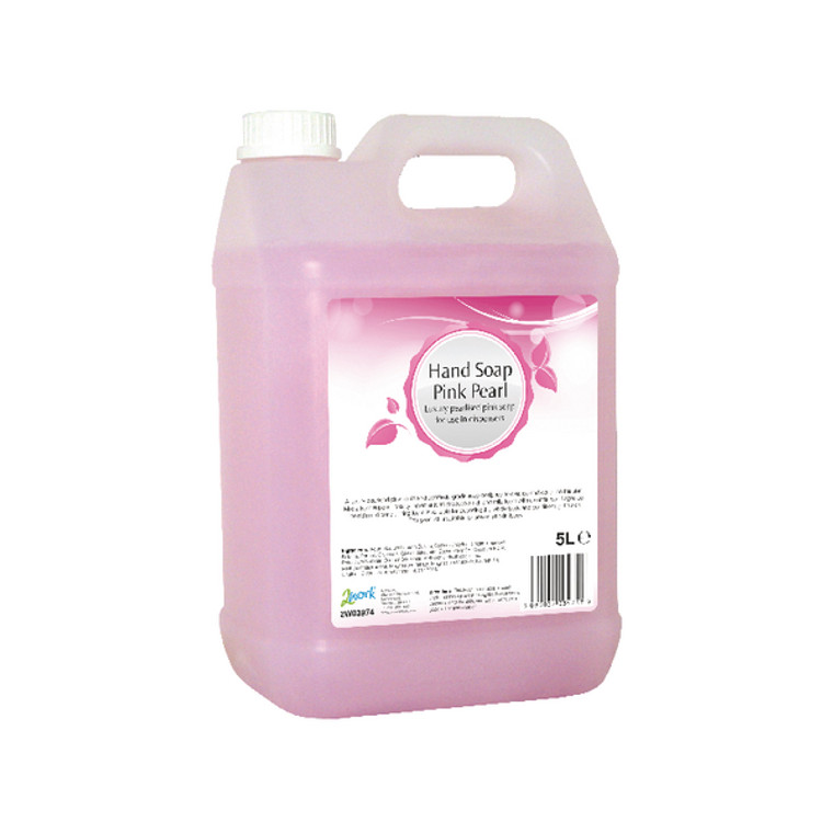 2W03974 2Work Pink Pearl Hand Soap 5 Litre 402