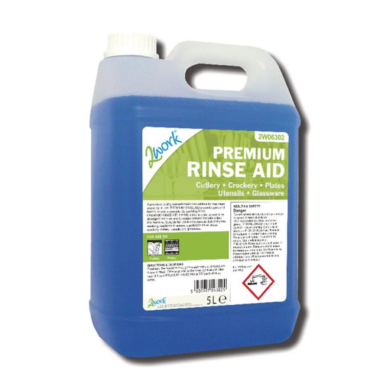 2W06302 2Work Premium Rinse Aid 5 Litre 407