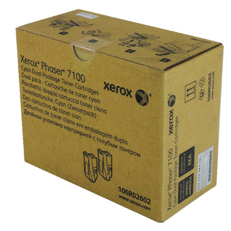 106R02602 Xerox 106R02602 Cyan Toner High Capacity