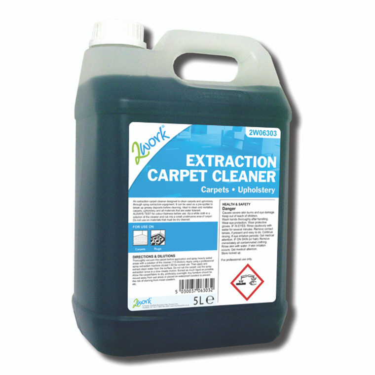 2W06303 2Work Extraction Carpet Cleaner 5 Litre 306