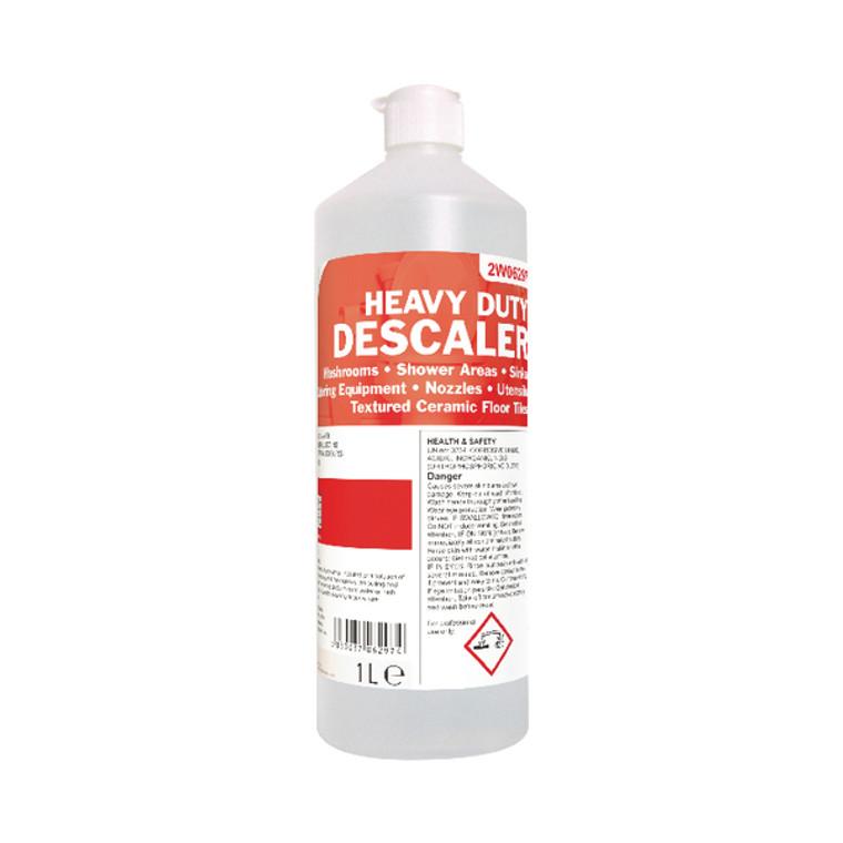 2W06297 2Work Heavy Duty Toilet Cleaner 1 Litre Pack 12 2W06297