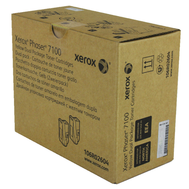 106R02604 Xerox 106R02604 Yellow Toner High Capacity