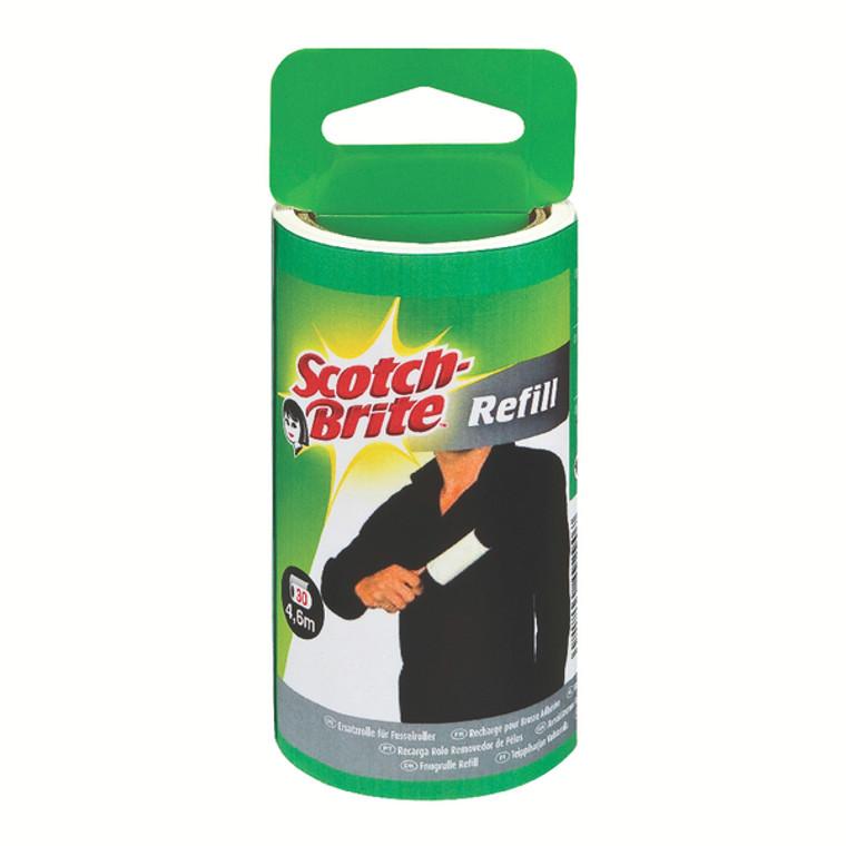 3M49290 3M Scotch-Brite Lint Roller Refill 30 Sheet 836RP-30EU