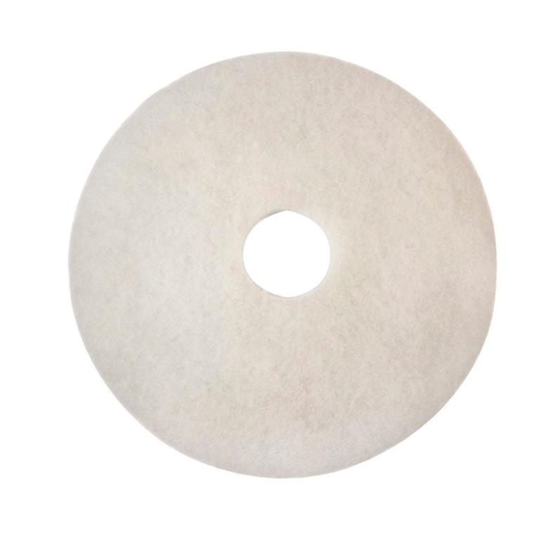 3M34911 3M Polishing Floor Pad 380mm White Pack 5 2NDWH15