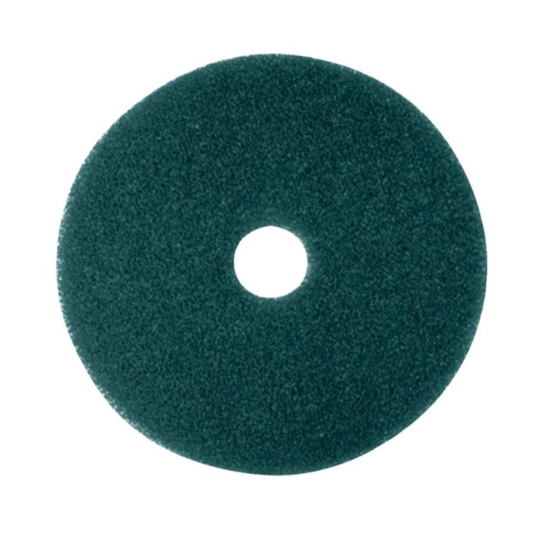 3M34987 3M Scrubbing Floor Pad 430mm Green Pack 5 2NDGN17