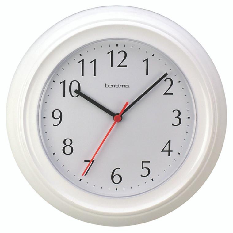 ANG21412 Acctim Wycombe Wall Clock White 21412