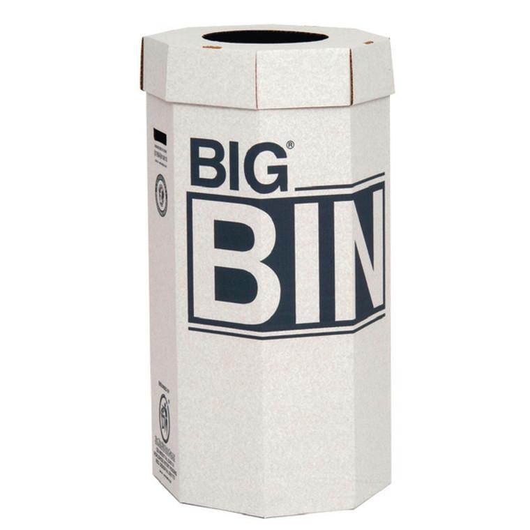 NW142958 Acorn Big Bin Cardboard Recycling Bin 160 Litre Pack 5 142958