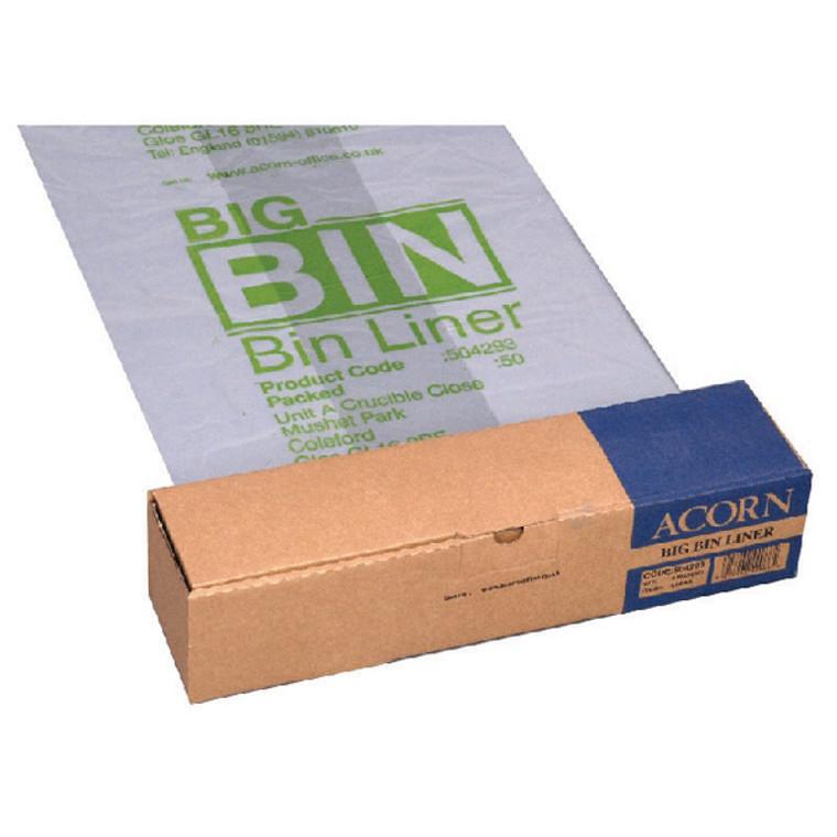 NW142966 Acorn Big Bin Liner Pack 50 504293