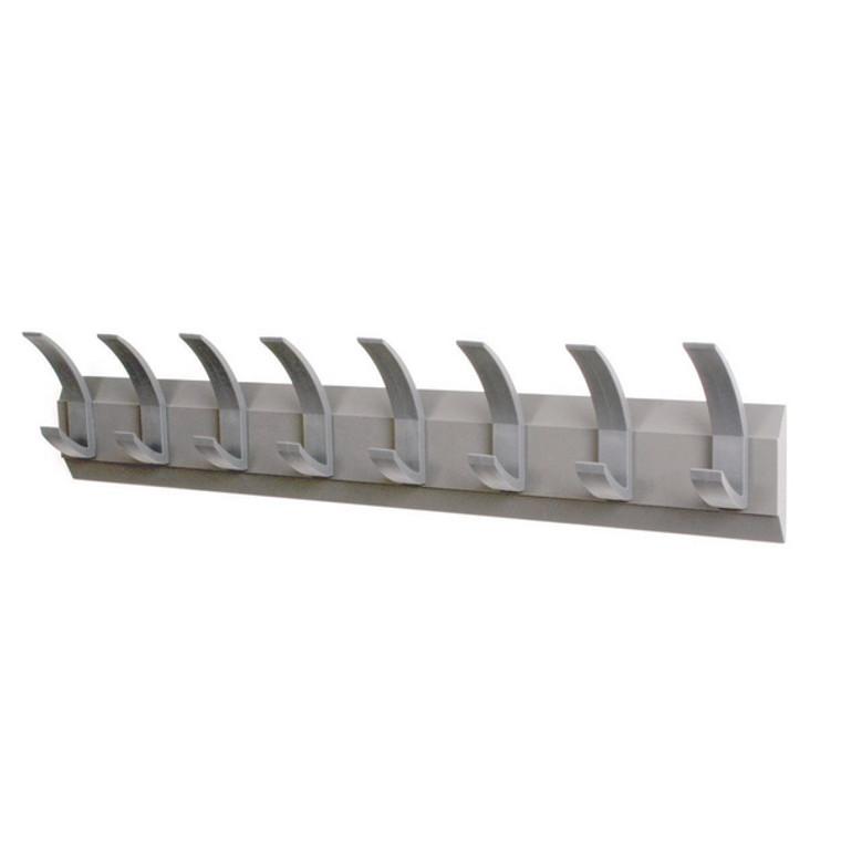 NW620582 Acorn Wall Mounted Coat Rack With 8 Hooks NW620582