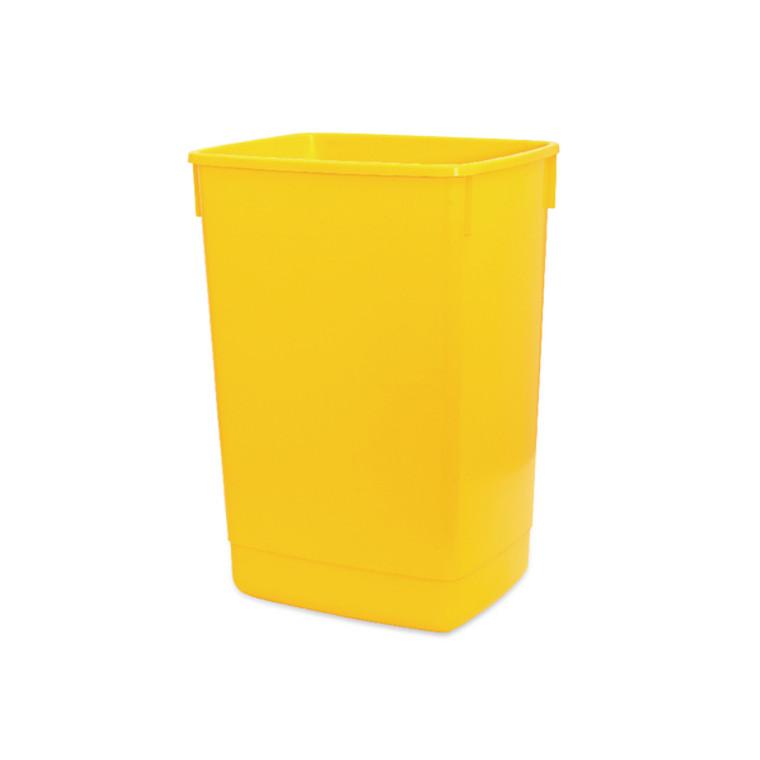 AG03887 Addis 60 Litre Flip Top Bin Yellow Base 510901