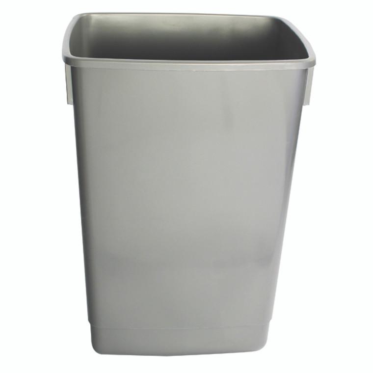 AG12058 Addis Grey 54 Litre Recycling Bin Kit Base Metallic Pack 3 505574
