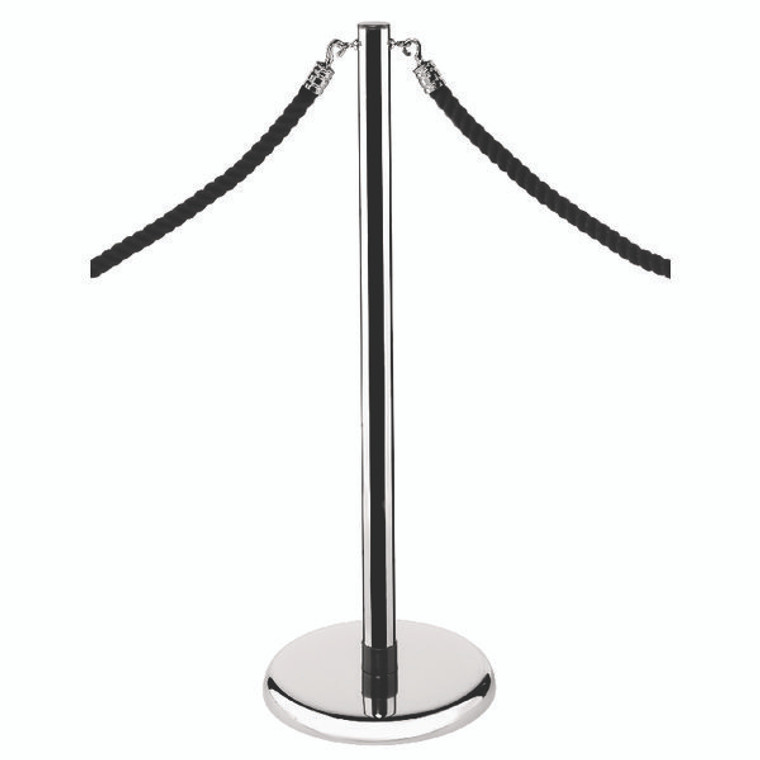 AN71015 Economy Rope Stand Chrome RS-CL-CH-SET