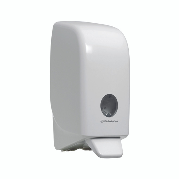 KC02456 Aquarius Foam Sanitiser Dispenser White 6948
