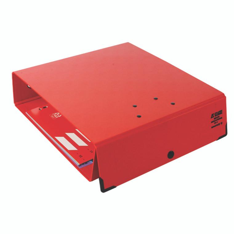 AK11504 Arianex Double Lever Arch File A4 Red DA4R