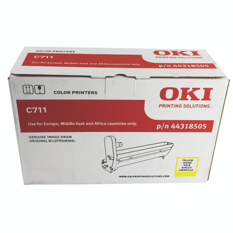 44318505 Oki 44318505 Yellow Imaging Unit